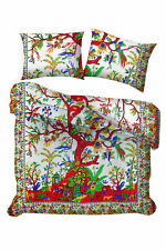 Tree Of Life Design Quilt Cover Cotton Fabric Queen Size Duvet Cover Queen Size