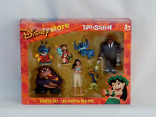 Disney Exclusive LILO AND STITCH 7 FIGURE SET Toy ~ RARE ~ NEW Figurine set!
