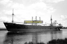 mc2205 - German Cargo Ship - Castor , built 1953 - photo 6x4
