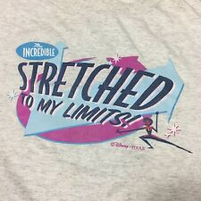 Disney's The Incredibles Mrs. Incredible Strecthed To My Limits Shirt XL Cartoon