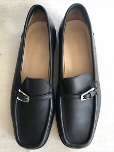 Bally Decade Women Leather Loafer/ Exc Conds/ EU 37/ US 6.5/ Made In Italy
