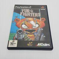 FUR FIGHTERS Viggo's Revenge PS2 Playstation 2 Video Game PAL