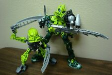 LEGO BIONICLE PHANTOKA 8686 8944 LEWA TANMA MATORAN CUSTOM + MANUAL