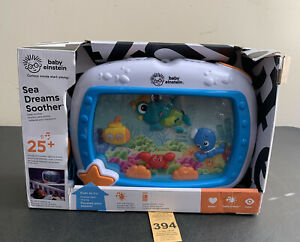 Baby Einstein Sea Dreams Soother Musical Crib Toy and Sound Machine with Remote