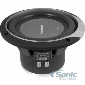"Rockford Fosgate P2D4-8 Punch Series 500W 8"" Dual 4-ohm Car Subwoofer Speaker"