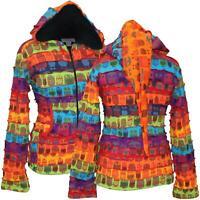 Women's Fleece Lined Owl Hoodie Pixie Hippie Jacket Sweater Long Sleeve Jumper