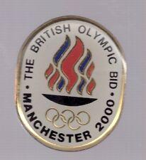 2000 Manchester British Olympic Bid Pin Sydney Great Britain
