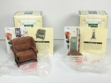 2000 Take a Seat by Raine Miniature Collectible Chairs w/ Coa 24029 24034