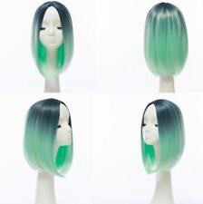 Ombre Hair Straight Short Bob Wig Synthetic Cosplay Full Wig Party New Arrival