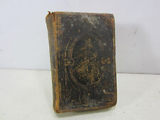 1865 Leather Bound Bible in English  B#144