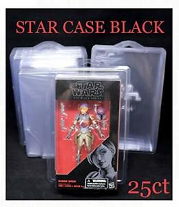 Star Case Black Made to Protect Star Wars Black & Archive Series Lot of 25