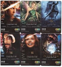 "Thaïlande - GSM Prepaid Cards - 6 Cards Movie ""Peter Pan"""
