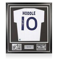 Framed Glenn Hoddle Signed Tottenham Hotspur Shirt - Home 1978, Number 10 Premiu