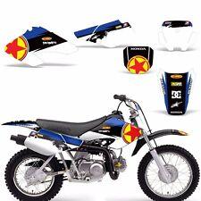 Graphic Kit Honda XR 70 R MX Dirt Pit Bike Decals Sticker Wrap XR70 2001-2003 RS