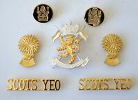 British Army Scottish Yeomanry Cap/Collar Badges/Buttons & Shoulder Titles