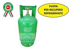 BOMBOLA VUOTA RICARICABILE DA 13 LT x GAS REFRIGERANTE R410 R404 R134 R407 ETC