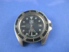 Vintage TAG HEUER 1000 Pro 980.006 Jumbo Monnin Style Diver Watch STEEL no rese