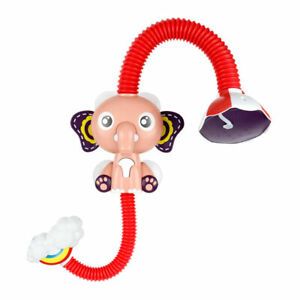 Cute Elephant Sprinkler Bath Water Pump with 360 Degrees For Kids in shower