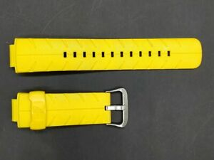 C asio Watch Yellow Strap Band 687 EJ 16mm for G-300 G-306X G-301B Authentic