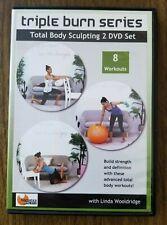 Triple Burn Series 2 Dvd Set - Linda Wooldridge - Barlates Body Blitz