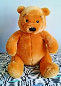 "Winnie The Pooh Disney 10"" Soft Toy Plush Comforter EXCELLENT"