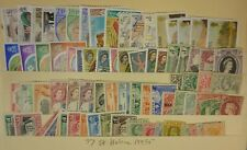 St Helena collection 77 different 2020/19 Scott $149.95