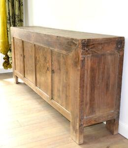 Sideboard Kommode massivholz Schrank chinesisch Möbel wohnzimmer naturbelassen
