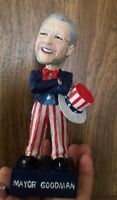 OSCAR GOODMAN LAS VEGAS Mayor Patriotic Limited Edition Bobblehead Elect A Head