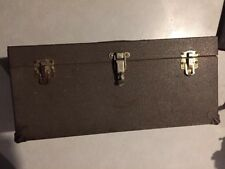 Vintage KENNEDY KITS Metal Fishing Tackle/Tool Box CS-16 Very Nice