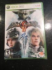 Soul Calibur IV (Microsoft Xbox 360, 2008) White Label Brand New Factory Sealed