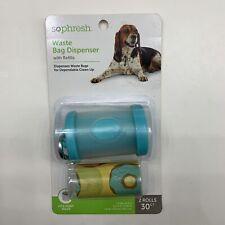 New listing So Phresh Dog Waste Bag Dispenser with Refill 30 Ct