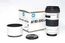 Minolta AF 80-200mm F2.8 HS APO G