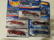 Hot Wheels Lot of (4) Thomasima Iii Types! All different