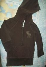 Women's Abercrombie And Fitch Brown Hoodie Size: SMALL