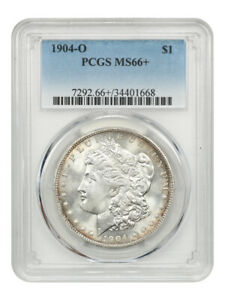 1904-O $1 PCGS MS66+ Underrated Date - Morgan Silver Dollar - Underrated Date