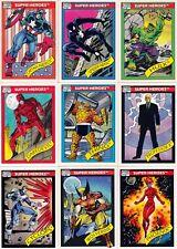 Marvel Universe Series 1 Complete 162 Card Set 1990