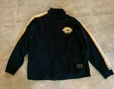 CCM Boston Bruins Vintage Hockey Black Zip-up Jacket Hoodie Men's XL Extra Large