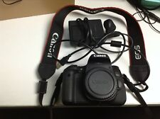 Canon EOS 760D 24.2MP DSLR Camera - Black (Body Only with Battery/Charger/USB