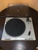 Vintage TECHNICS SL-B202 Turntable  For Parts Or Repair
