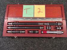 Ls Starrett Brown Amp Sharpe Inside Micrometer Machinist Mill Inspection Cnc Gage