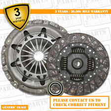 3 Part Clutch Kit with Release Bearing 190mm 9038 Complete 3 Part Set