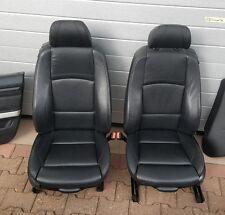 BMW E92 Coupe Fahrer Beifahrer Sport Sitz Türverkleidung M Paket Leder schwarz