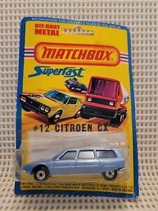 Matchbox  - Citroen CX - # 12 - ***New On Card***