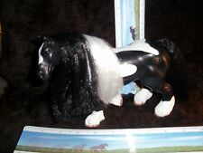 GRAND CHAMPION EMPIRE TOYS  Black and White Clydesdale Horse