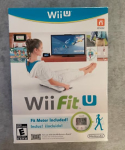 Wii Fit U  Video Game with manual   Exercise   Work-Out       BRAND NEW
