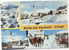 AK Reith bei Seefeld Tirol  5 Wintermotive- gelaufen