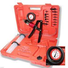 21 PC Brake Fluid Bleeder Hand Held Vacuum and Pressure Pump Tester Kit