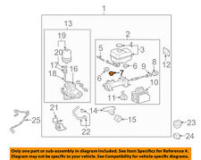 TOYOTA OEM ABS Anti-Lock Brake System-Grommet 3141735010