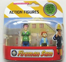 FIREMAN SAM 2 FIGURE SET - DILYS AND NORMAN - AS IMAGE - NEW!