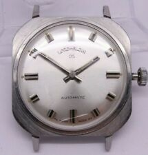 VINTAGE Lord Elgin Mens 32mm Steel Automatic Watch 25j Elgin c.965 = NEEDS TLC =